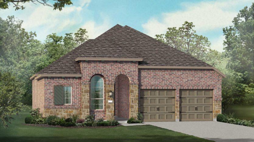 Highland Homes Lantana: Barrington - 50ft. lots subdivision 9312 Terrel Street Lantana TX 76226