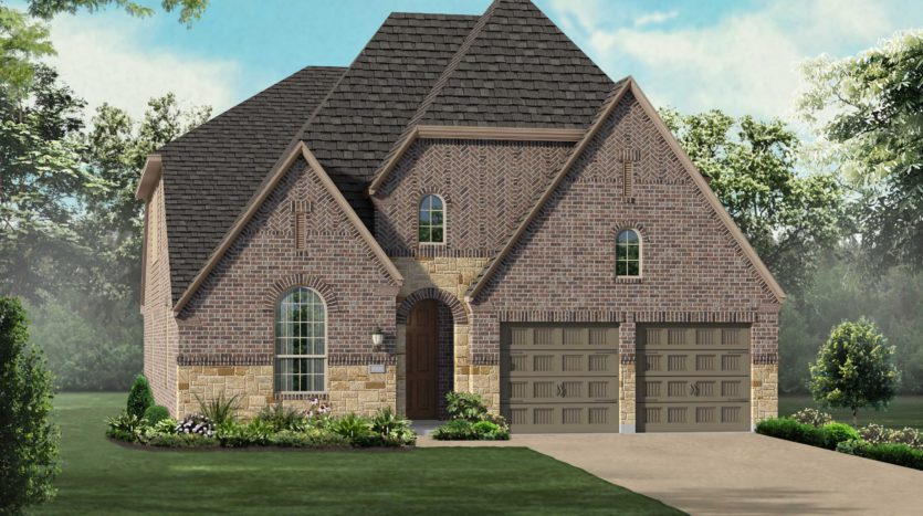 Highland Homes The Tribute: Westbury subdivision 8400 Wembley The Colony TX 75056