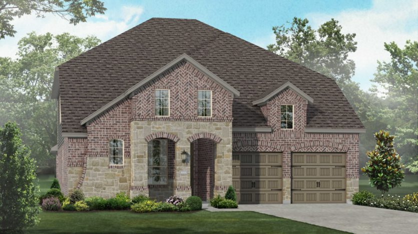 Highland Homes Trinity Falls: 50ft. lots subdivision 705 Lost Woods Way McKinney TX 75071