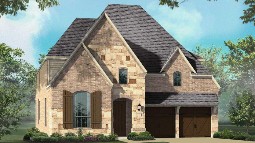 Highland Homes Star Trail: 55ft. lots subdivision 1601 Pebblebrook Lane Prosper TX 75078