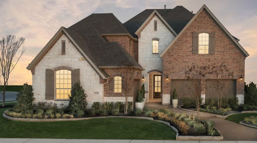 American Legend Homes The Grove Frisco - 65s subdivision 15397 Viburnum Road Frisco TX 75035