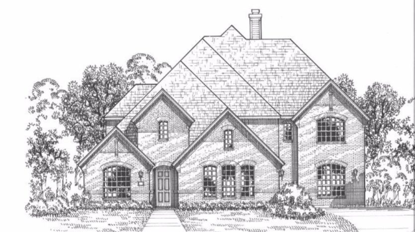 American Legend Homes Windsong Ranch - 76s subdivision 4461 Acacia Parkway Prosper TX 75078
