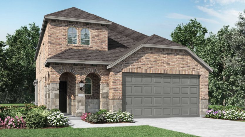 Highland Homes Clements Ranch: 40ft. lots subdivision 2532 Pettus Drive Forney TX 75126
