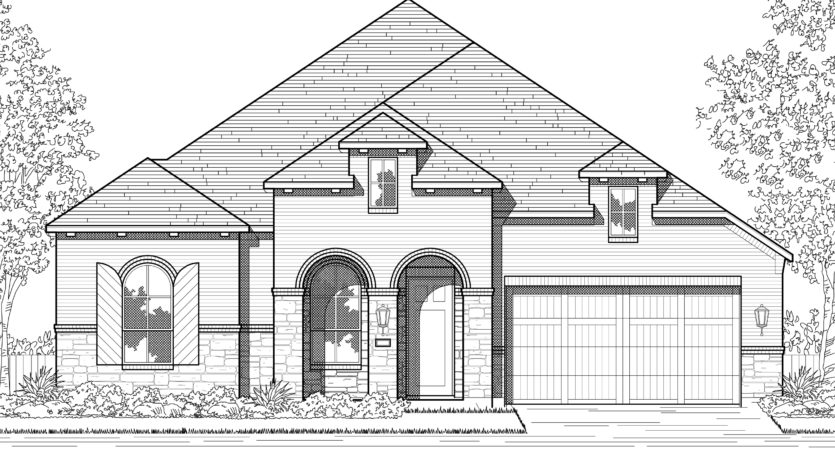 Highland Homes Devonshire: 60ft. lots subdivision 2128 Devonblue Drive Forney TX 75126