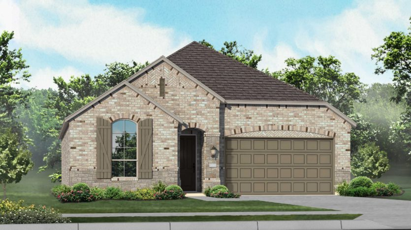 Highland Homes West Crossing subdivision 904 Edinburgh Drive Anna TX 75409