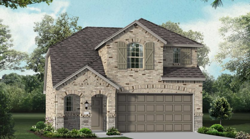 Highland Homes Clements Ranch: 40ft. lots subdivision 2719 Runnels Court Forney TX 75126