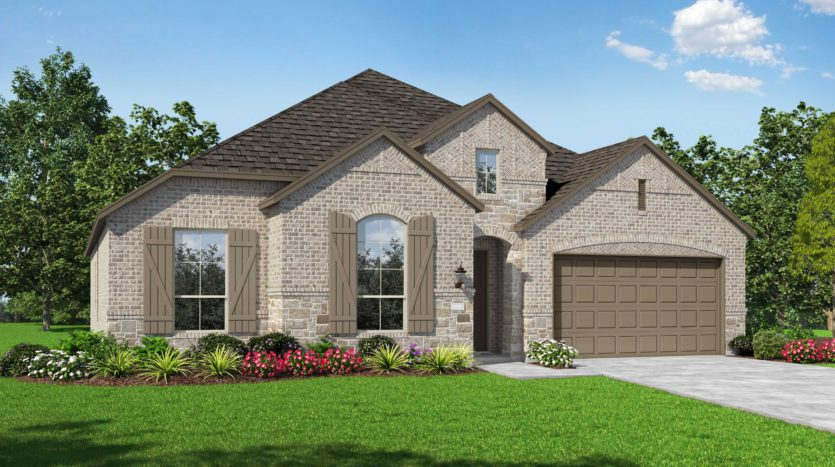 Highland Homes Wildridge: Artisan Series - 60ft lots subdivision 9705 Rubicon Trail Oak Point TX 75068