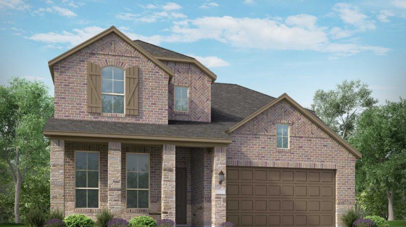 Highland Homes Wildridge: Artisan Series - 50ft. lots subdivision 9705 Rubicon Trail Oak Point TX 75068