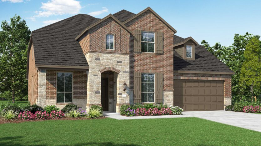 Highland Homes Devonshire: 60ft. lots subdivision 1643 Castleford Drive Forney TX 75126
