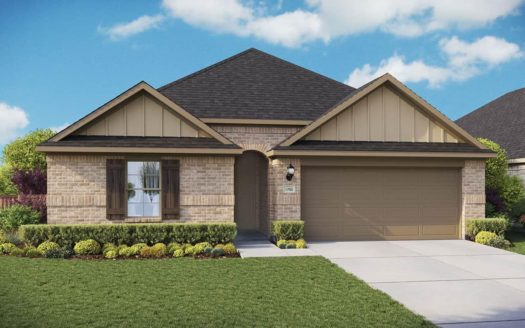 Gehan Homes North Creek subdivision 4204 Milrany Lane