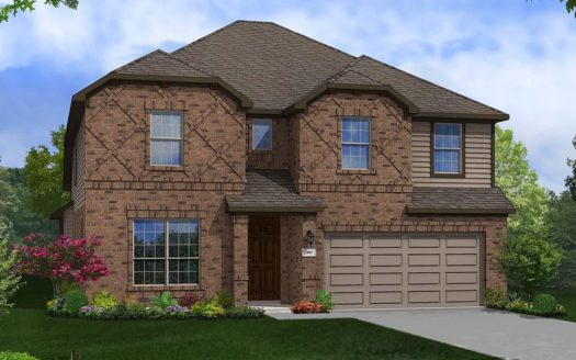 Gehan Homes Aspen Meadows subdivision 11613 Alpine Springs Drive Aubrey TX 76227