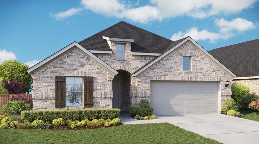 Gehan Homes Aspen Meadows subdivision 11417 Alpine Springs Drive Aubrey TX 76227