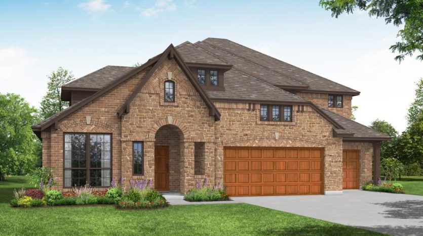 Bloomfield Homes Ridge Ranch subdivision 3113 Coral Ridge Court Mesquite TX 75181