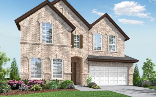 Landon Homes Pecan Meadow subdivision 1992 Parish Lane Allen TX 75013