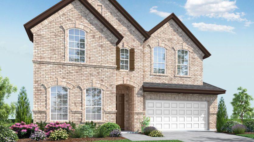 Landon Homes Lexington Country Impression Series subdivision 13124 Strike Gold Blvd Frisco TX 75035
