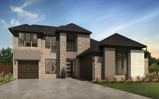 MainVue Homes Creekside at Colleyville subdivision 3600 Valmur Ave Colleyville TX 76034