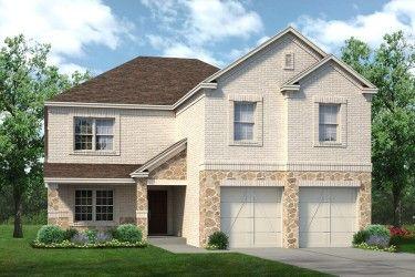 Sandlin Homes Southgate III subdivision 7203 Voltaire Drive Grand Prairie TX 75052