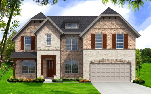 Landon Homes Hollyhock Classic Series subdivision 15720 Pleat Leaf Frisco TX 75033