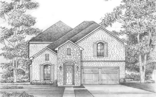 Shaddock Homes Lakes at Legacy subdivision 2810 Firefly Place Prosper TX 75078