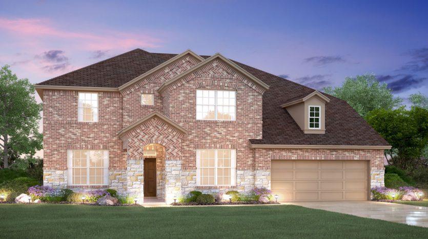 M/I Homes Canyon Falls subdivision 101 Big Sky Circle Northlake TX 76226