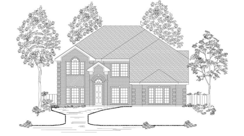 First Texas Homes Wellspring Estates subdivision 2808 Fountain Park Drive Celina TX 75009