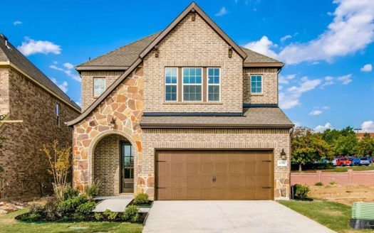 David Weekley Homes The Terraces of Las Colinas subdivision 6859 Verandah Way Irving TX 75039