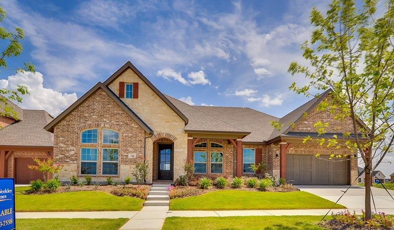 David Weekley Homes Harvest Orchard Classic subdivision 1104 Homestead Way Argyle TX 76226
