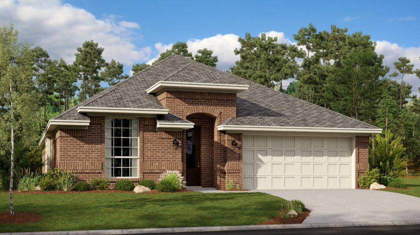 Lennar Hills of Crown Ridge subdivision 10320 Bloom Drive Frisco TX 75035