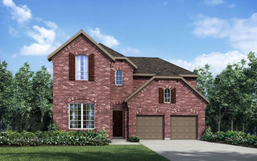 Drees Custom Homes Barcelona subdivision 6608 Cristo Lane McKinney TX 75070