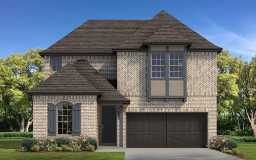 Normandy Homes Liberty Hill subdivision 5825 Stonewall Drive McKinney TX 75070