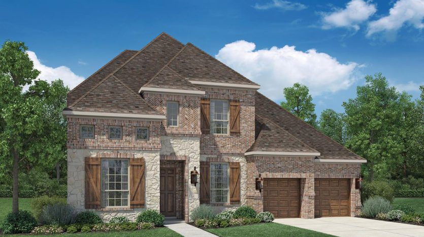 Toll Brothers Ridgeview Crossing - The Executives subdivision 2462 Electra Drive Allen TX 75013