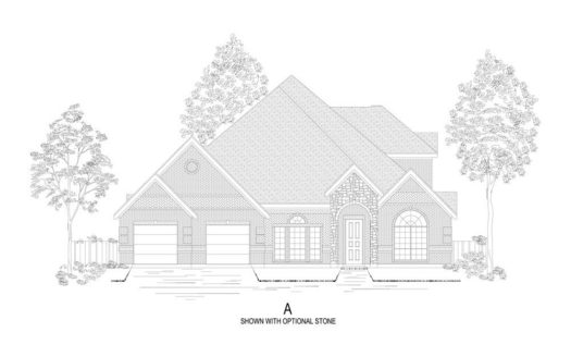First Texas Homes Tanners Mill subdivision 1310 St. Peter Lane Prosper TX 75078