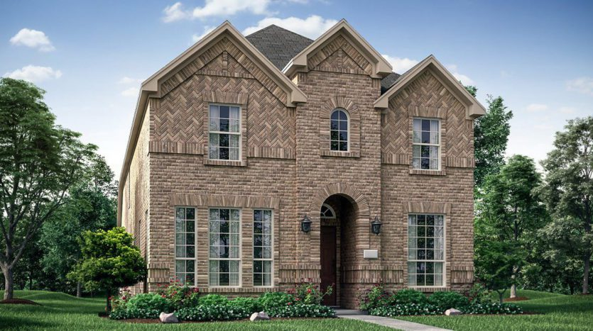 Village Builders Frisco Springs Riverside subdivision 7432 Zachery Drive Frisco TX 75033