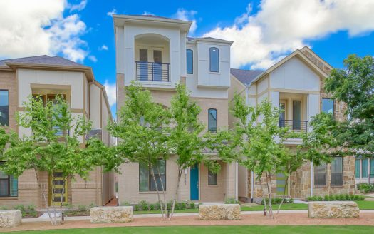 Chesmar Homes Merion at Midtown Park subdivision 8290 Laflin Drive Dallas TX 75231