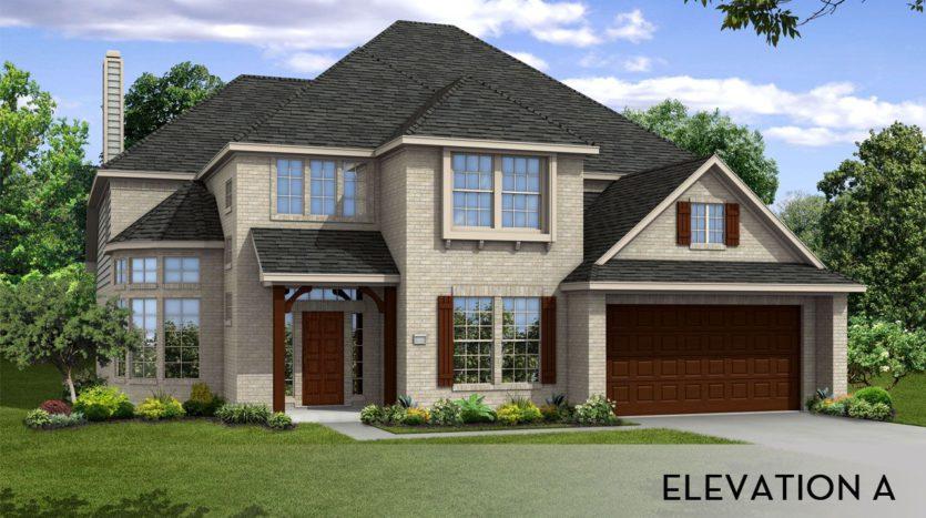 CastleRock Communities Sonoma Verde subdivision 1406 Via Toscana Ln. Rockwall TX 75032
