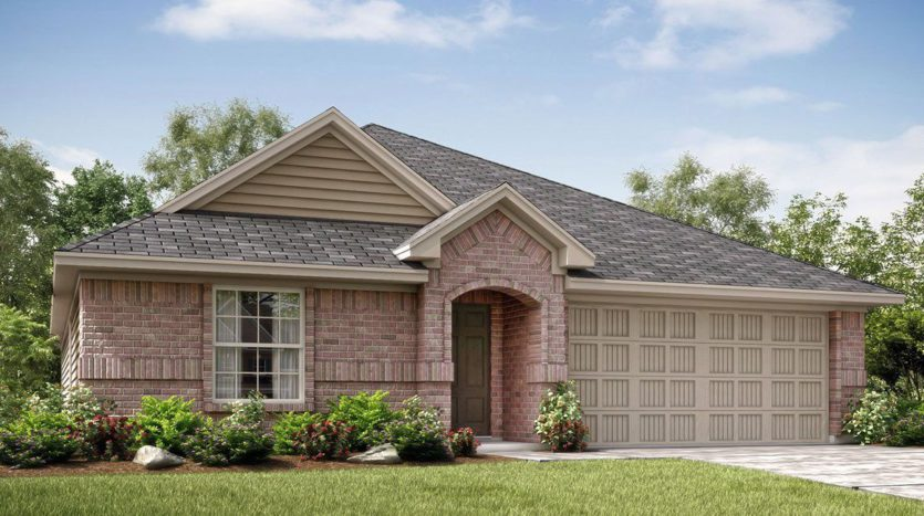 Lennar Trinity Crossing 50 subdivision 2066 Charismatic Drive Forney TX 75126