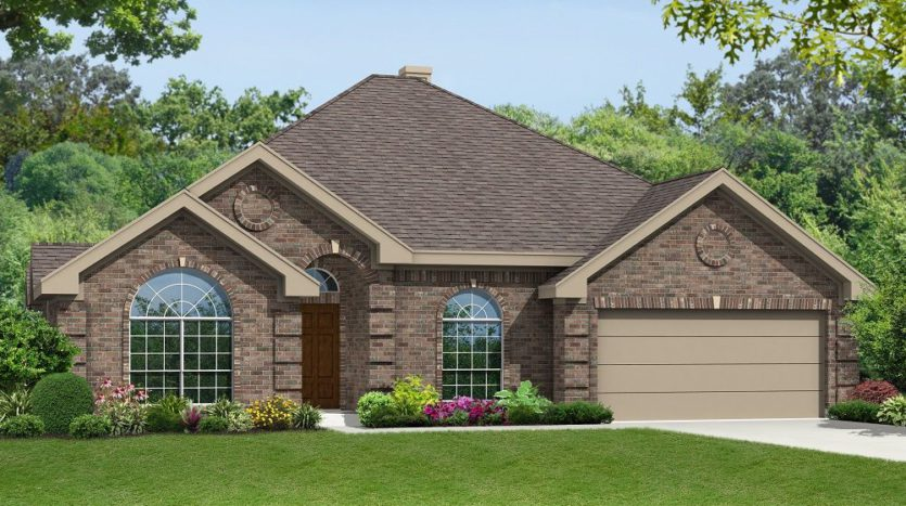 First Texas Homes The Villages of Fox Hollow subdivision 1204 Swisher Street Forney TX 75126