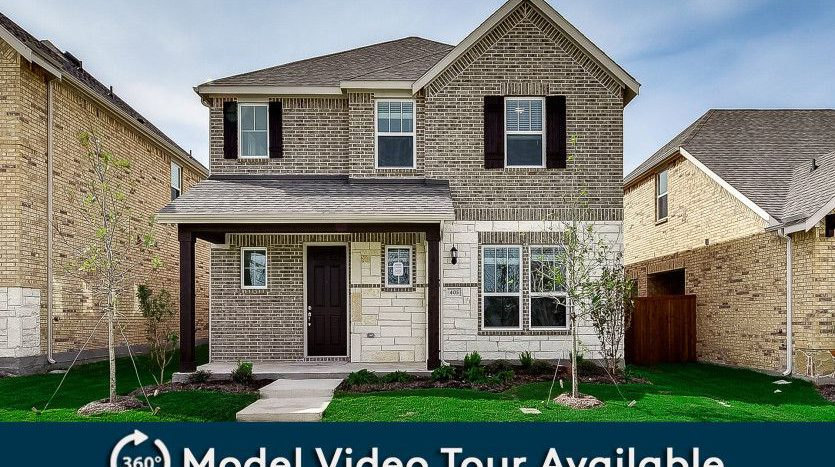 Pulte Homes Gramercy Park subdivision 1622 Everett Drive Garland TX 75044