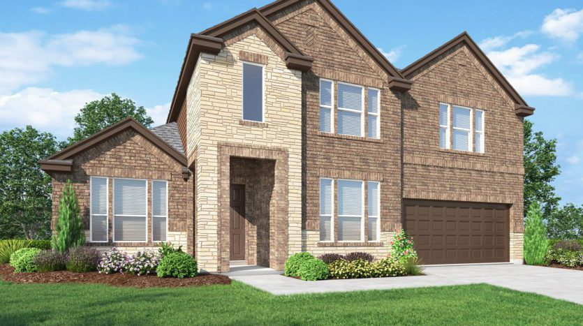 Landon Homes Walnut Springs at Twin Creeks subdivision 1802 Marshall Drive Allen TX 75013