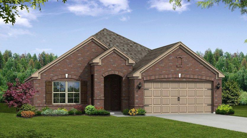 Beazer Homes Devonshire subdivision 1627 Cherington Ln Forney TX 75126