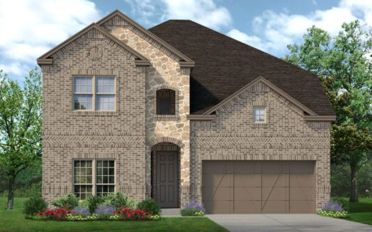 Sandlin Homes Country Lakes subdivision 9004 Conroe Argyle TX 76226