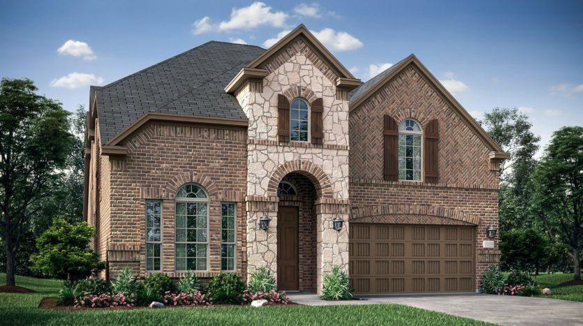 Village Builders Lakewood Hills South subdivision 3314 Brookglen Drive Carrollton TX 75010