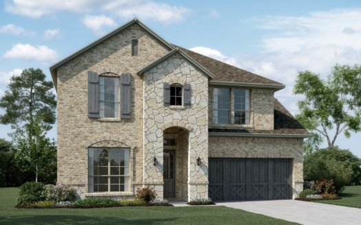 K. Hovnanian® Homes Calloway Trails subdivision 1612 Spanish Bay Court Little Elm TX 75068