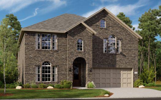 Lennar Fireside Park subdivision 1117 Embers Lane Denton TX 76201