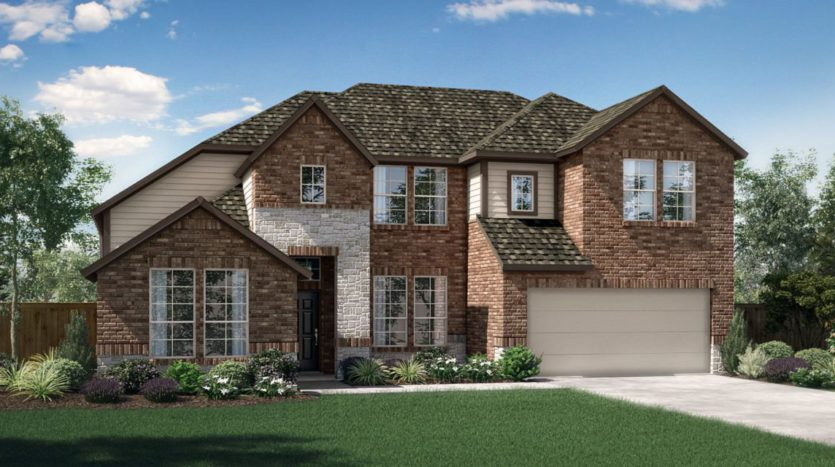 Pacesetter Homes Texas Parks at Legacy subdivision 2871 Cannon Drive Prosper TX 75078