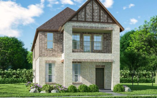 Meritage Homes Northaven - Springs Series subdivision 3808 Barnett Road Rowlett TX 75089