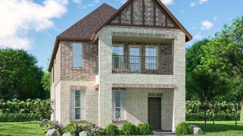 Meritage Homes Northaven - Springs Series subdivision 3808 Barnett Road Rowlett TX 75089