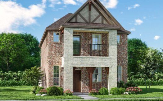 Meritage Homes Northaven - Springs Series subdivision 8017 Chapman Circle Rowlett TX 75089