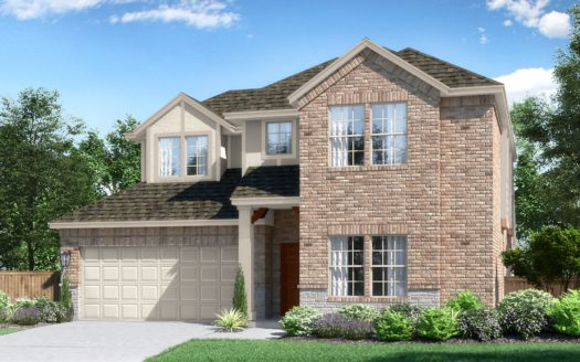 Pacesetter Homes Texas Woodridge subdivision 290 Wilmette Avenue Oak Point TX 75068