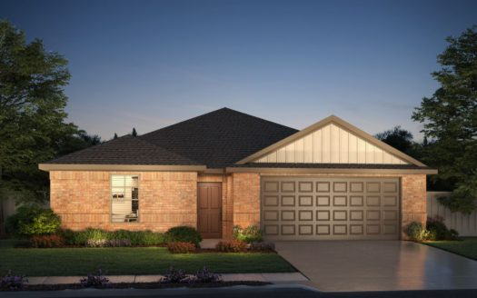 Meritage Homes ArrowBrooke - Classic Series subdivision 1612 Gold Mine Trail Aubrey TX 76227